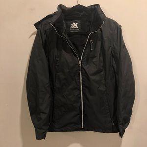 Zeroxposur winter jacket black polyester filled